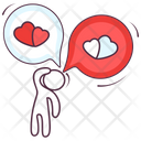 Love Thinking Love Mind Love Thoughts Icon