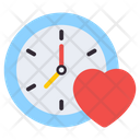 Love Time Romance Time Dating Time Icon