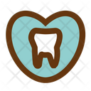 Love Tooth Medicine Health Icon