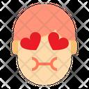 Love Tounge Emotion Face Dazed Icon