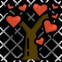 Love Tree Valentine Icon