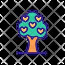 Love Tree Icon