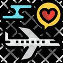 Love Trip Honeymoon Love Icon