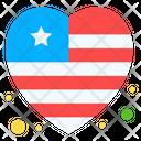 Love Usa Icon