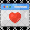 Love Website Love Web Matchmaking Website Icon