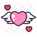 Love Wing Wing Valentine Icon