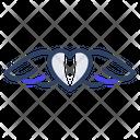 Love Wings Heart Wings Flying Heart Icon