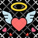 Love Wings Angel Love Angel Icon