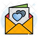 Greetings Letter Love Icon