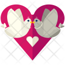 Lovebirds Love Birds Icon