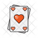 Lovecard Playingcard Joker Icon