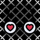Loveglasses Icon