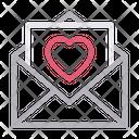 Loveletter Envelope Message Icon