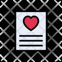 Loveletter Valentine Card Icon
