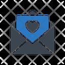 Loveletter Envelope Invitation Icon