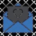 Loveletter Message Romance Icon