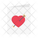 Loveletter Card Wedding Icon