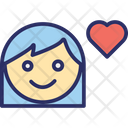 Lover Female Sweetheart Icon