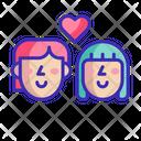 Lover Couple Romance Icon