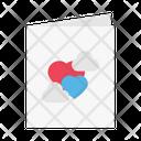 Wedding Loverletter Card Icon