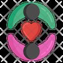 Romantic Couple Lovers Spouse Icon