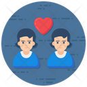 Lovers Couple Spouse Icon