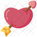 Lovers Fall In Love Valentines Day Icon