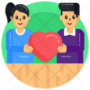 Lovers Couple Love Spouse Love Icon