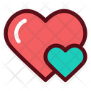 Loves Hearts Icon