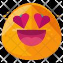 Loving Emoji Face Icon