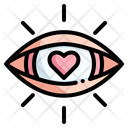 Loving Love And Romance Eye Icon