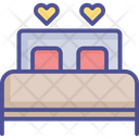 Loving Bedroom Bed Bedroom Icon