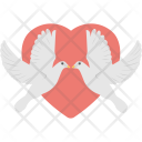 Loving Birds Two Icon