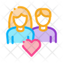 Loving Couple Icon