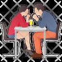 Loving Couple Romantic Couple Dating Icon