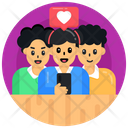 Conversation Loving Discussion Loving Chat Icon