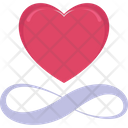 Loving Heart Day Forever Icon