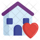 Loving Home Sweet Home Lovely Hut Icon