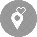 Loving Location Date Point Favourite Place Icon