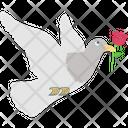 Loving Message Animal Bird Icon