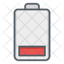 Low Battery Charging Discharged Icon