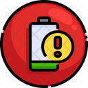 Low Battery Notification Icon