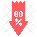 Low Discount Icon