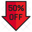 Low Discount Sale Discount Icon