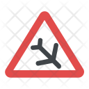 Low Flying Aircraft Sign Icon