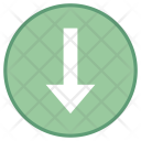 Low importance down arrow Icon