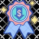Low Price Badge Low Price Guaranteed Guarantee Badge Icon