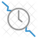 Time Duration Customer Support Icon