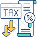 Finance Tax Low Icon
