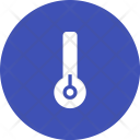 Low Temperature Thermometer Icon